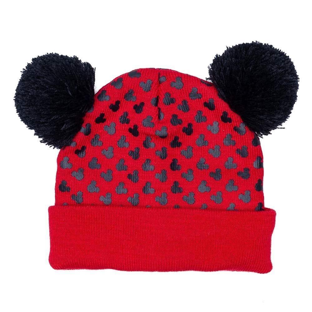 Gorro 4 A 10 Anos Mickey Mouse Disney - Vermelho