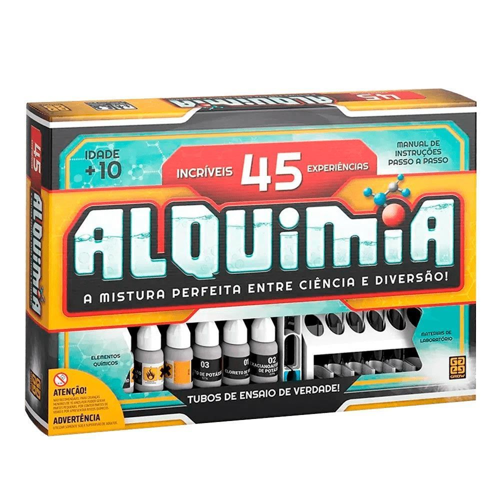 Jogo Alquimia 45 Experiências Grow - 03721