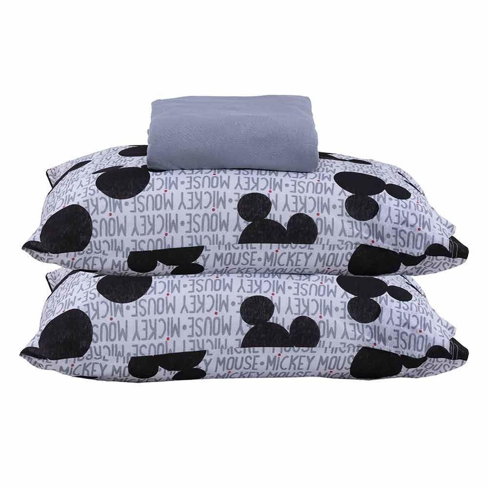Jogo De Cama Casal 3 Peças Disney - Mickey In Love