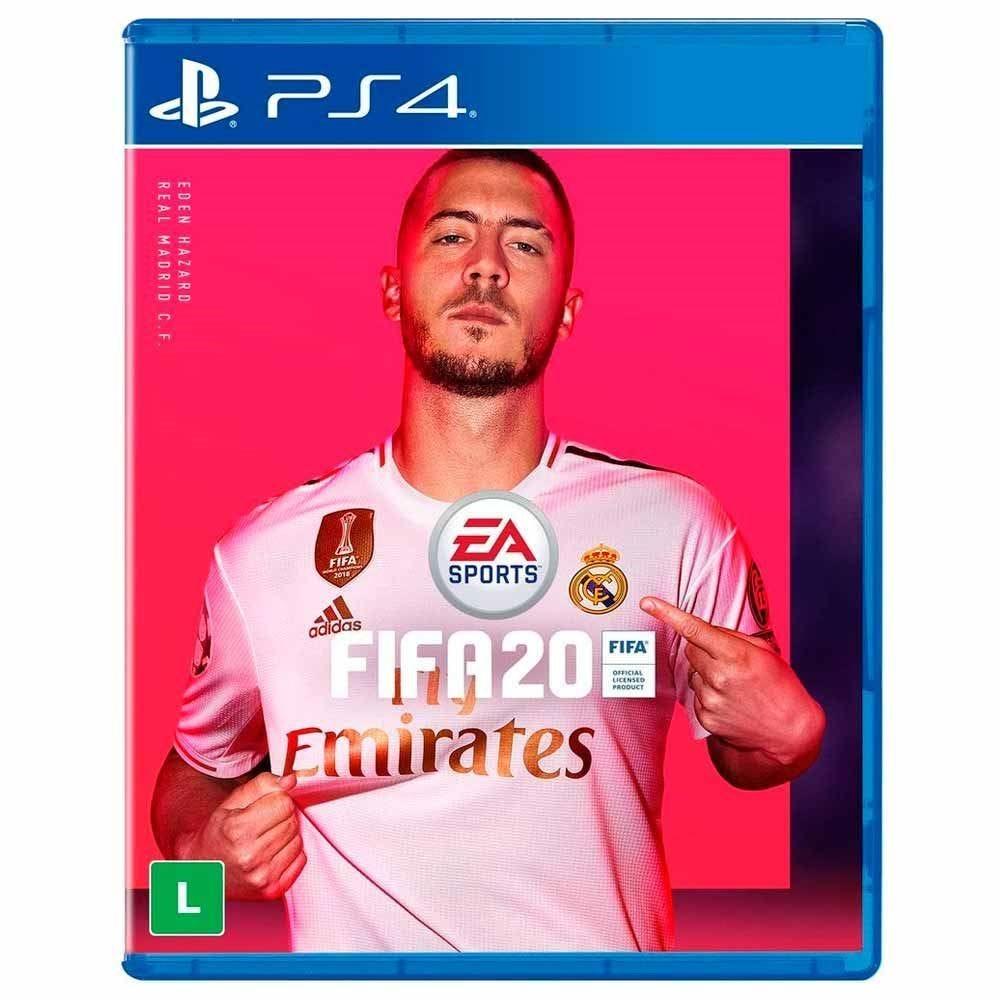 Jogo Fifa 20 Standard Edition Playstation 4 - EA