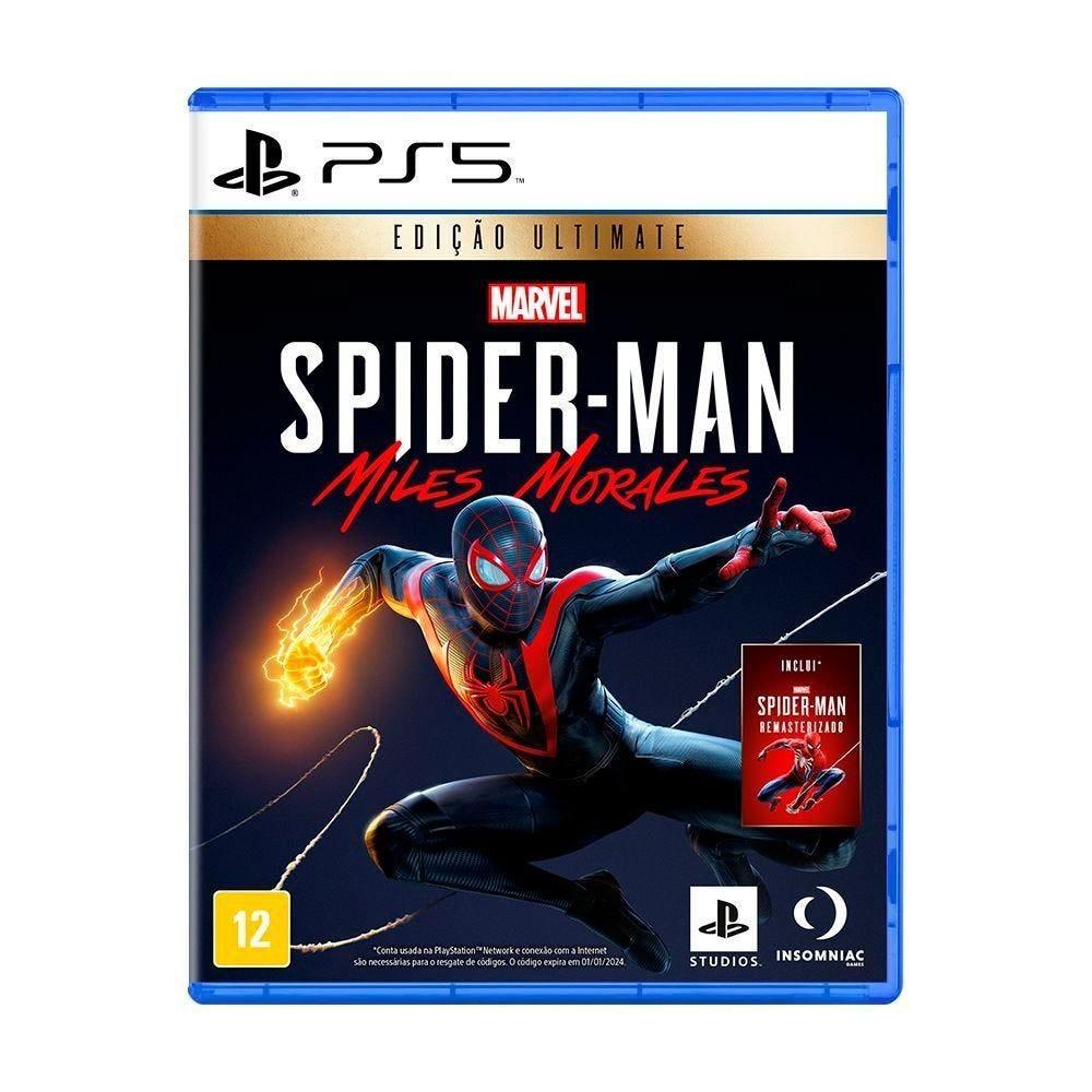Jogo Marvel's Spider-Man: Miles Morales Edição Ultimate Playstation 5 - Ação