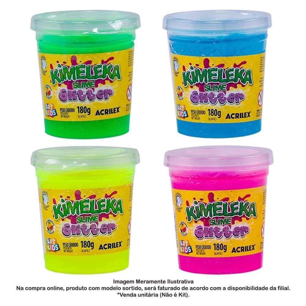 Kimeleka Slime Glitter 180G Acrilex - 05822