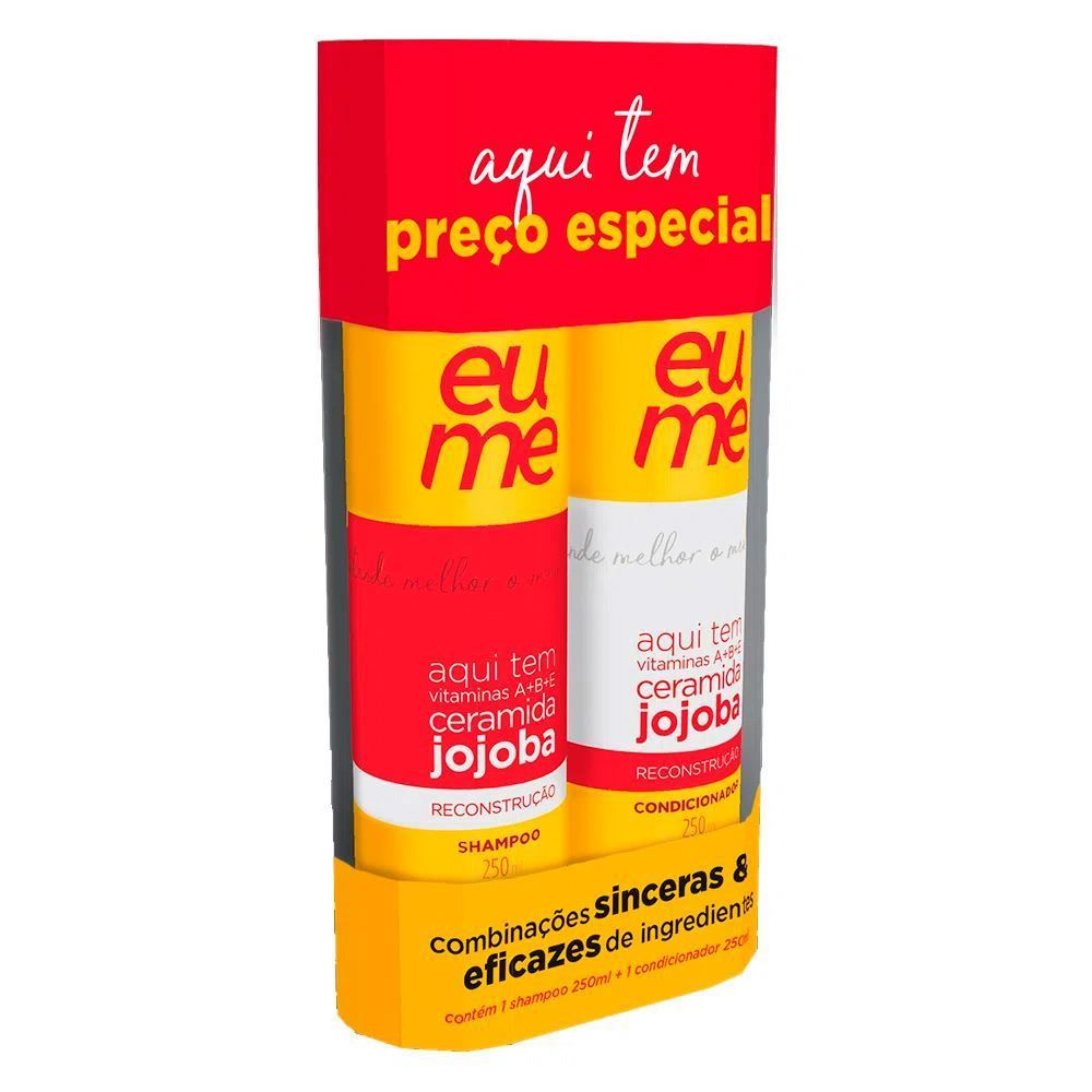 Kit Antipoluição Shampoo E Condicionador Eume - Diversos