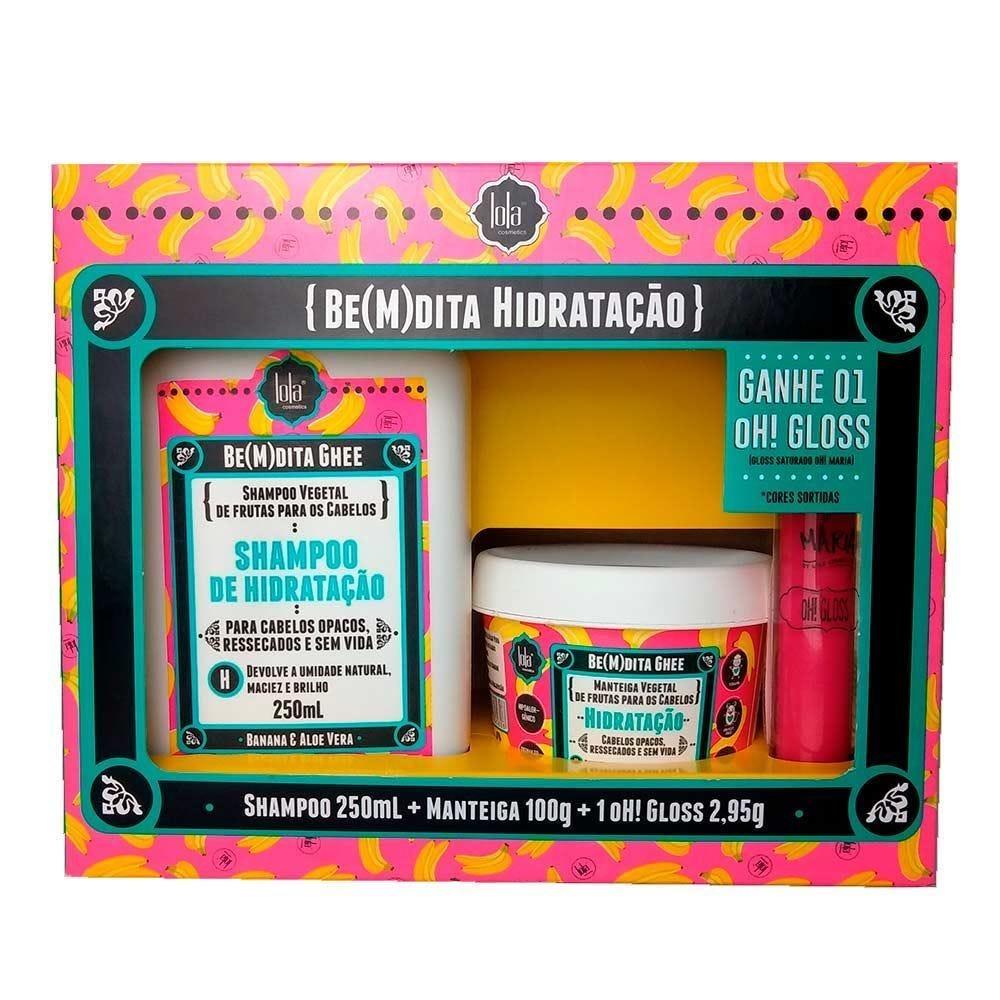 Kit Bemdita Hidratação + Batom Lola Cosmetics - Diversos