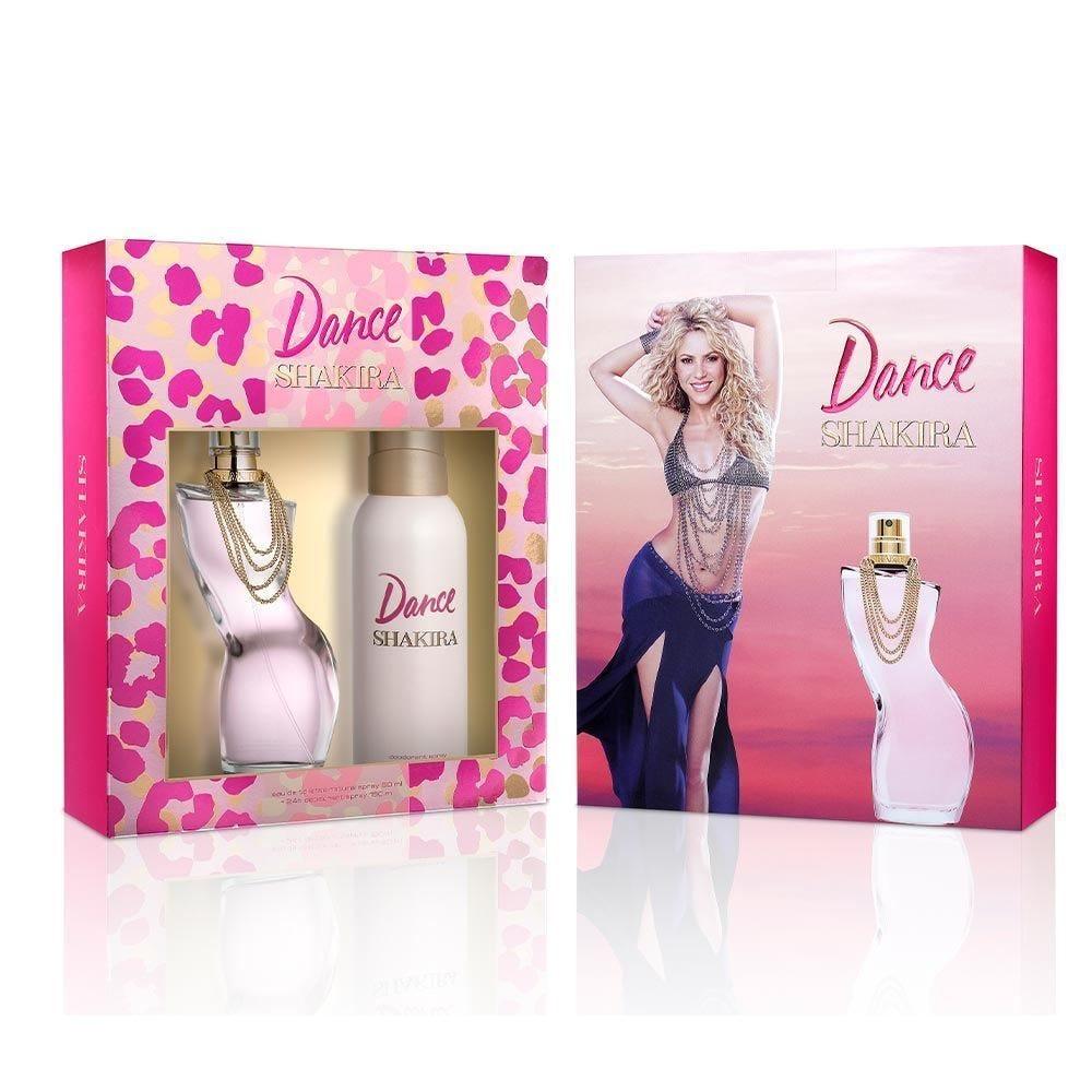 Kit Dance Edt 80Ml + Deo Spray 150Ml Shakira - Diversos