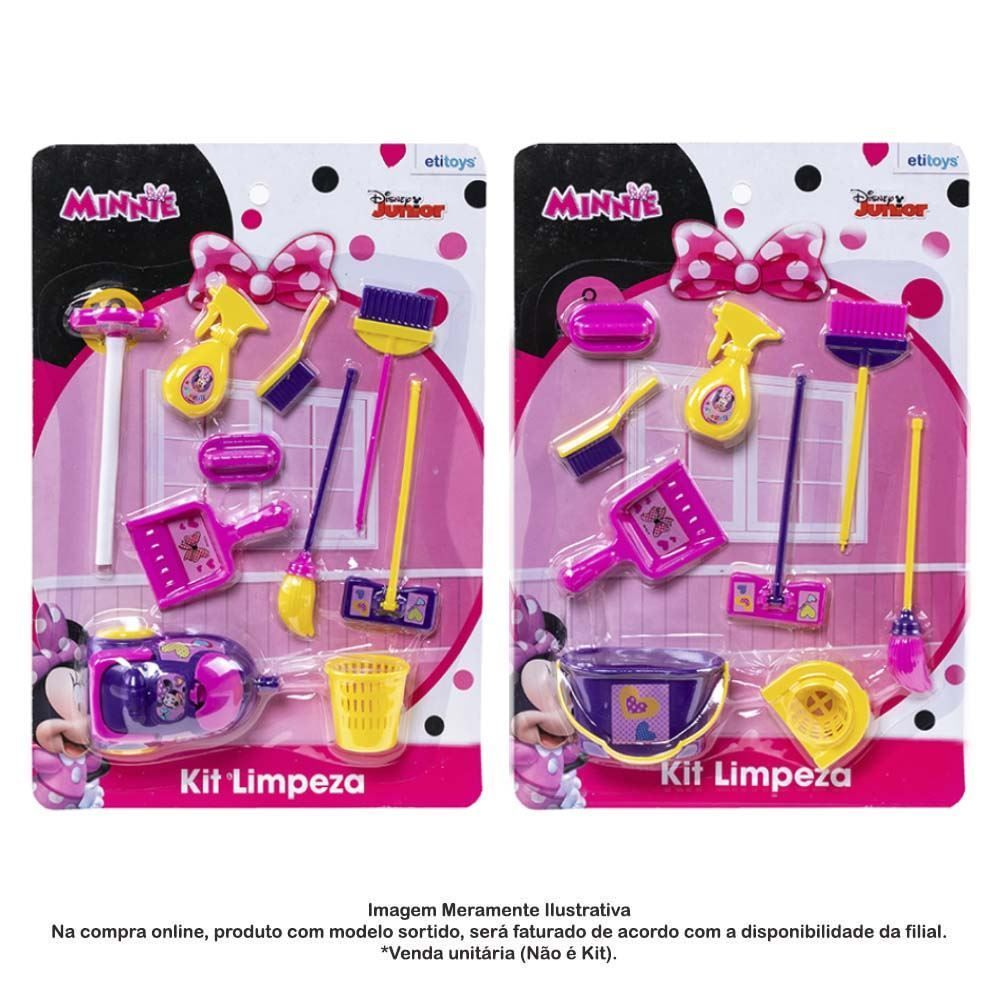 Kit De Limpeza Minnie Dy-590 Etitoys - DY-590