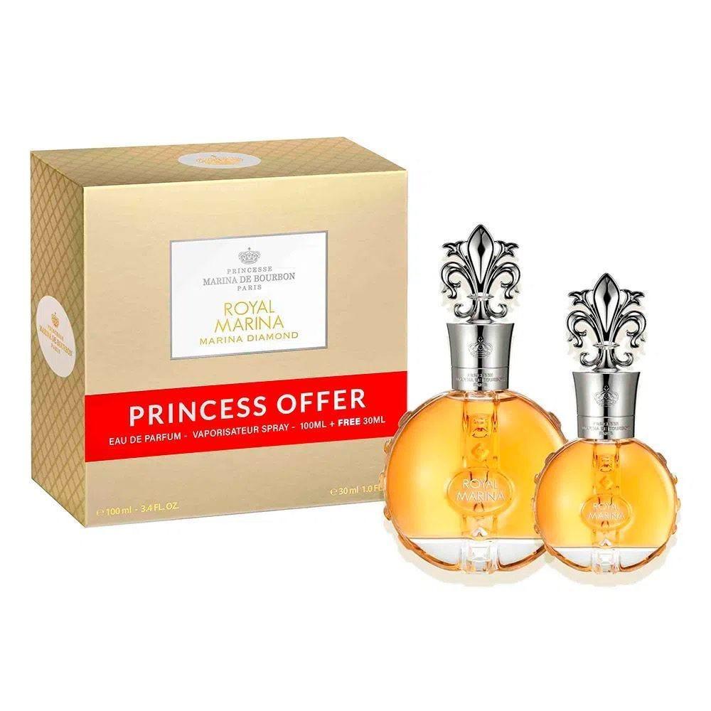 Kit Royal Coffret Edp Marina Diamond - Diversos
