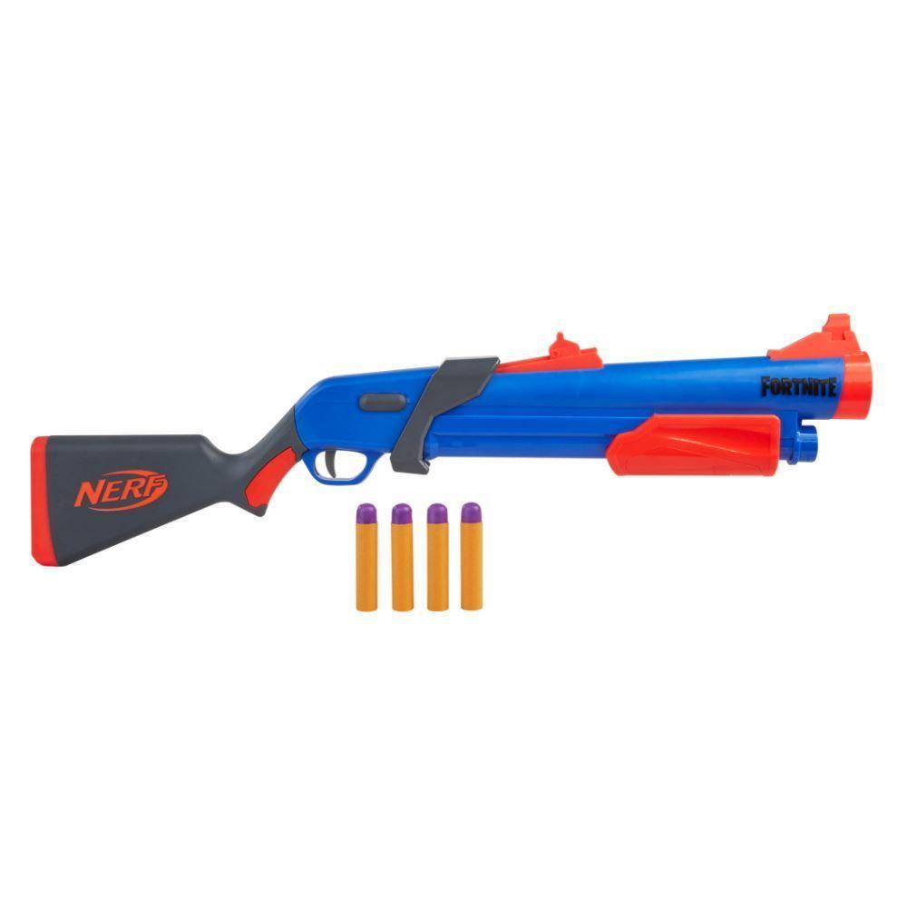 Lançador De Dardos Hasbro Nerf Fortnite Pump Sg - F0318