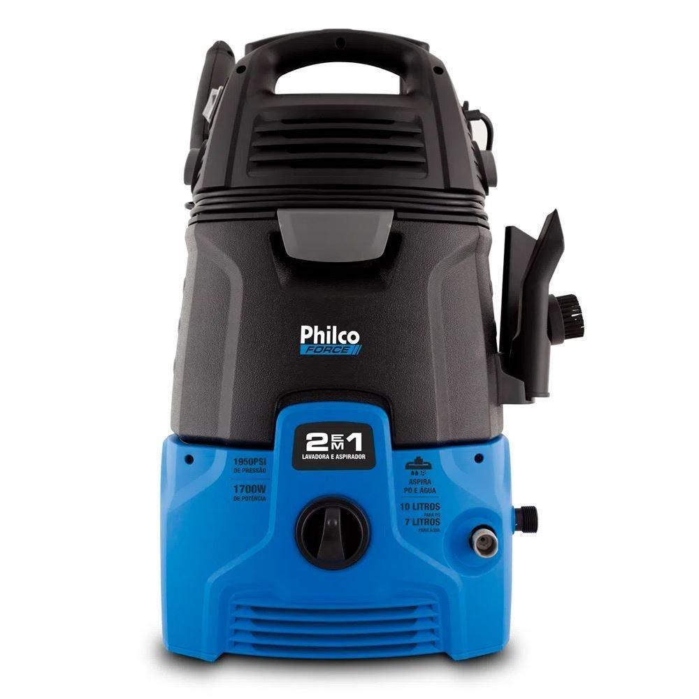 Lavadora de Alta Pressão e Aspirador Philco 2 em 1 PLAS4000