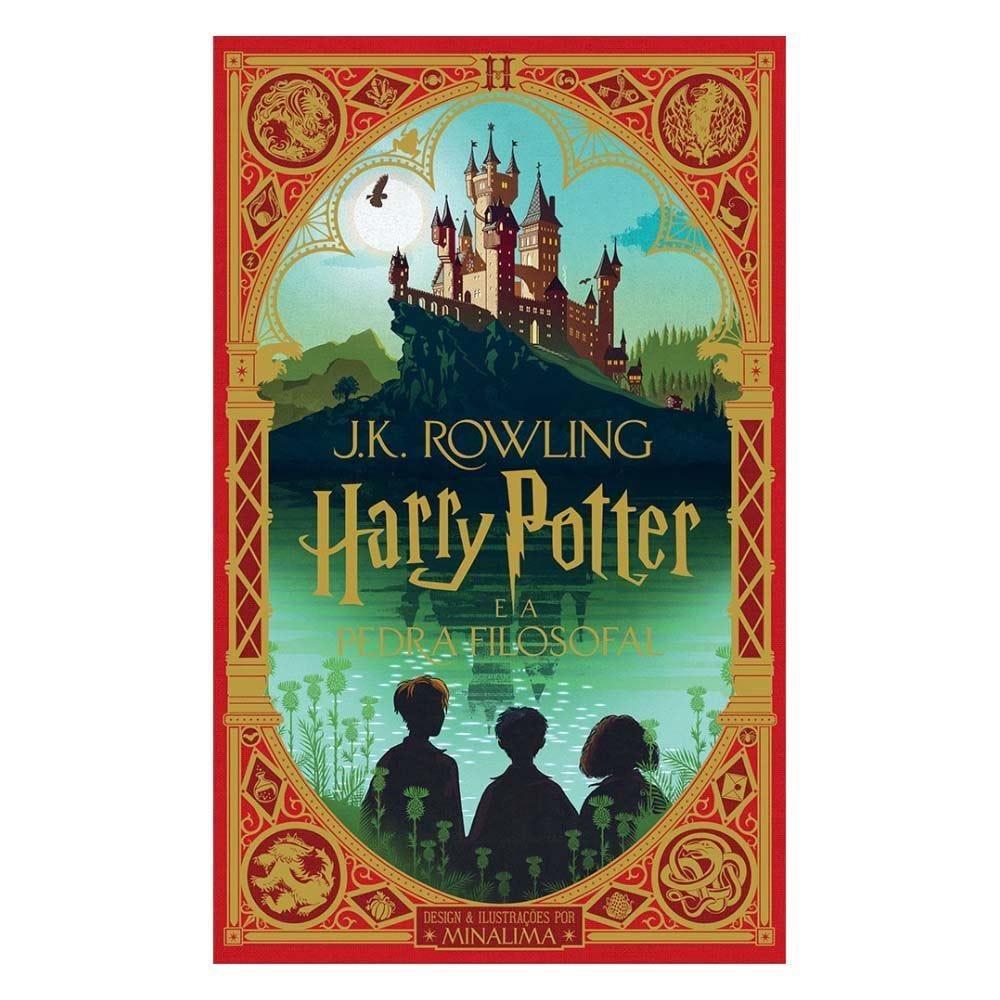 Livro Harry Potter E A Pedra Filosofal (Ilustrado Por Minalima) Rocco - 9788532531704