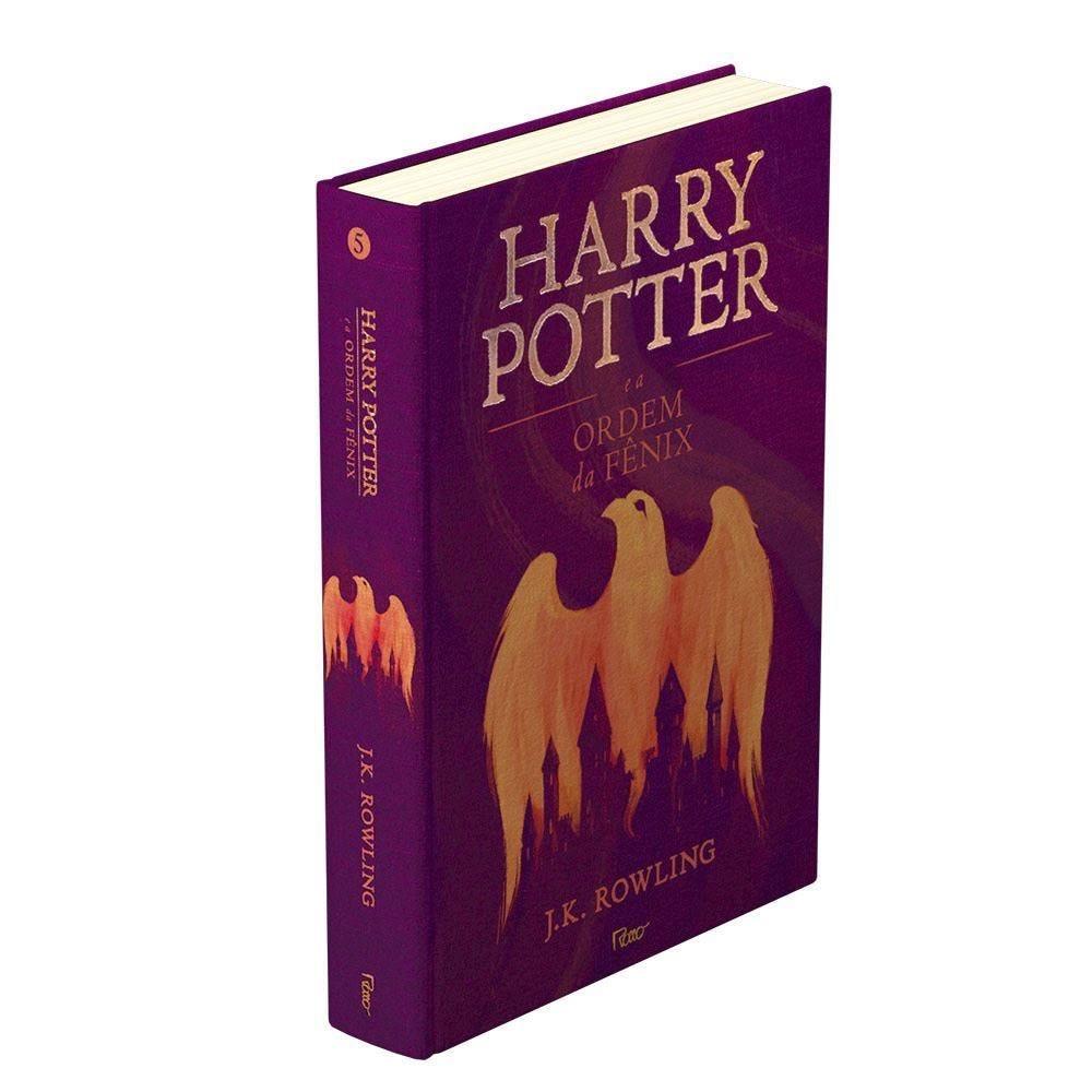 Livro Harry Potter Premium A Ordem Da Fênix   - Capa Dura