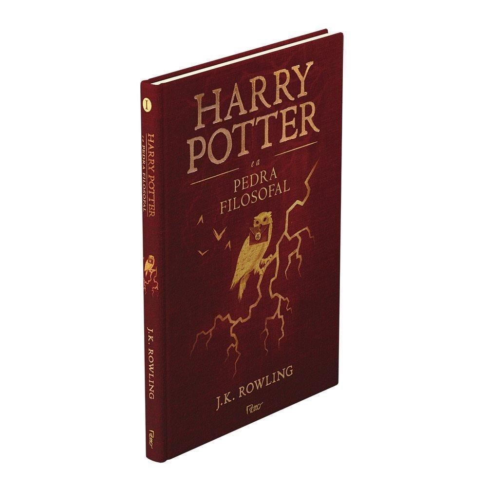 Livro Harry Potter Premium A Pedra Filosofal  - Coleção Premium Capa Dura
