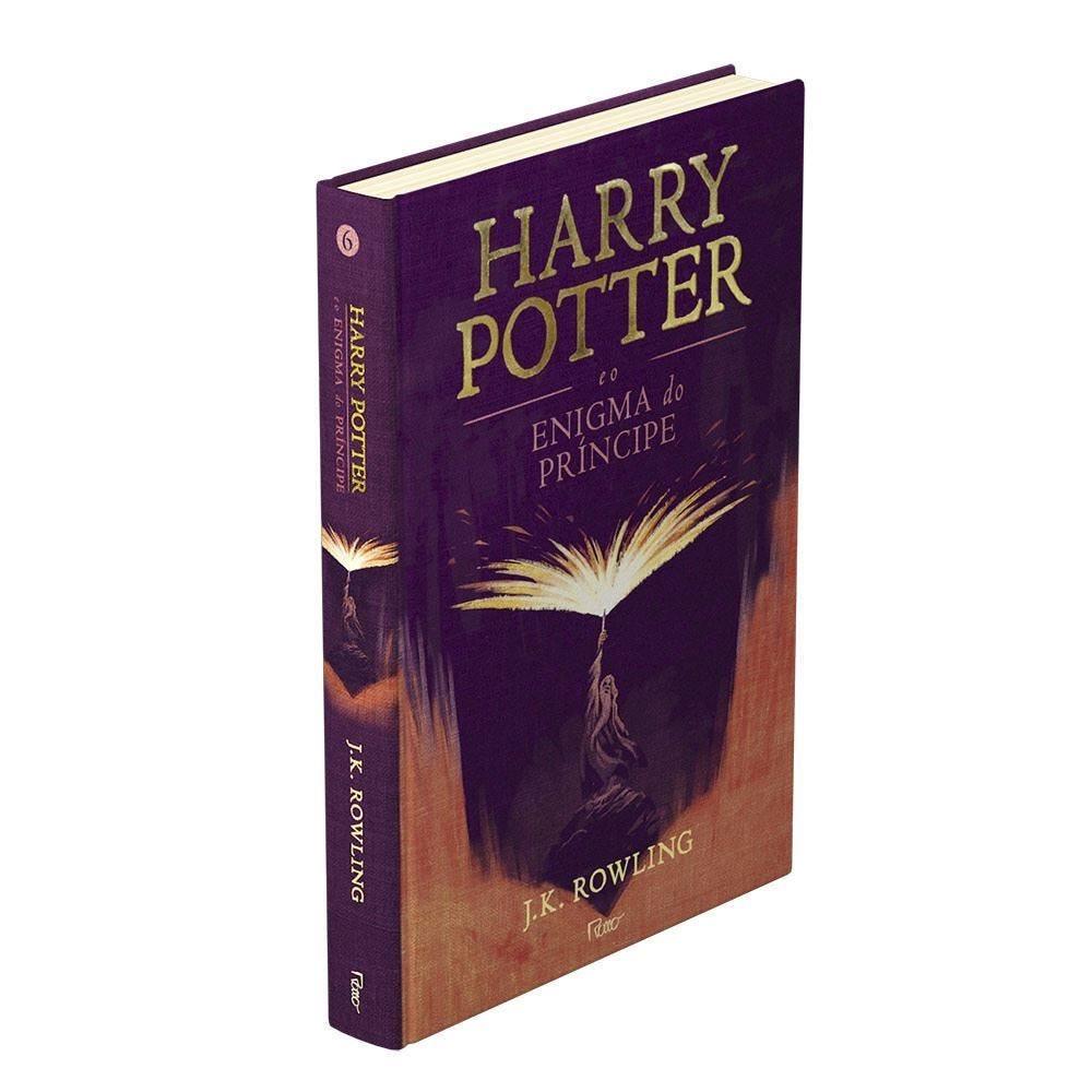 Livro Harry Potter Premium O Enigma Do Príncipe  - Capa Dura