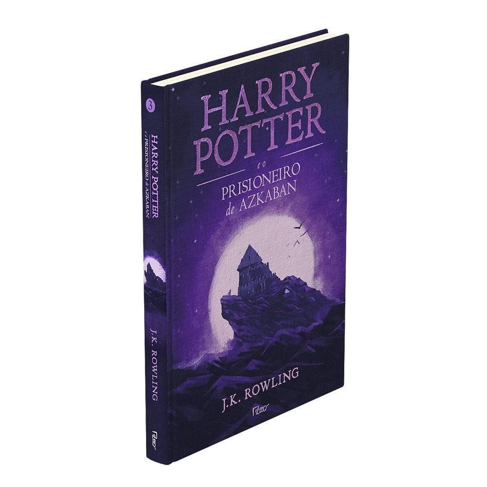 Livro Harry Potter Premium O Prisioneiro Azkaban  - Capa Dura