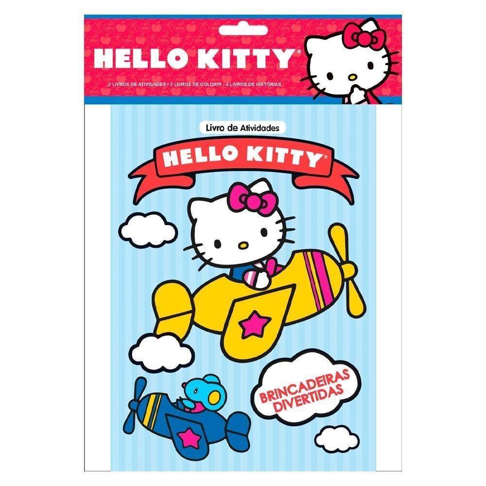 Livro Hello Kitty De Histórias Com Atividades E Desenhos Para Colorir - Ciranda Cultural