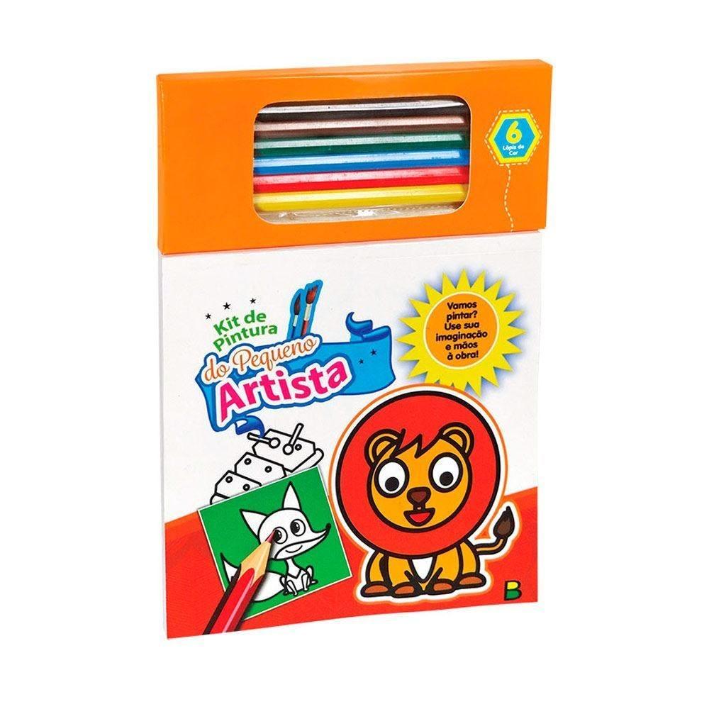 Livro Kit De Pintura Do Pequeno Artista Laranja - Todolivro