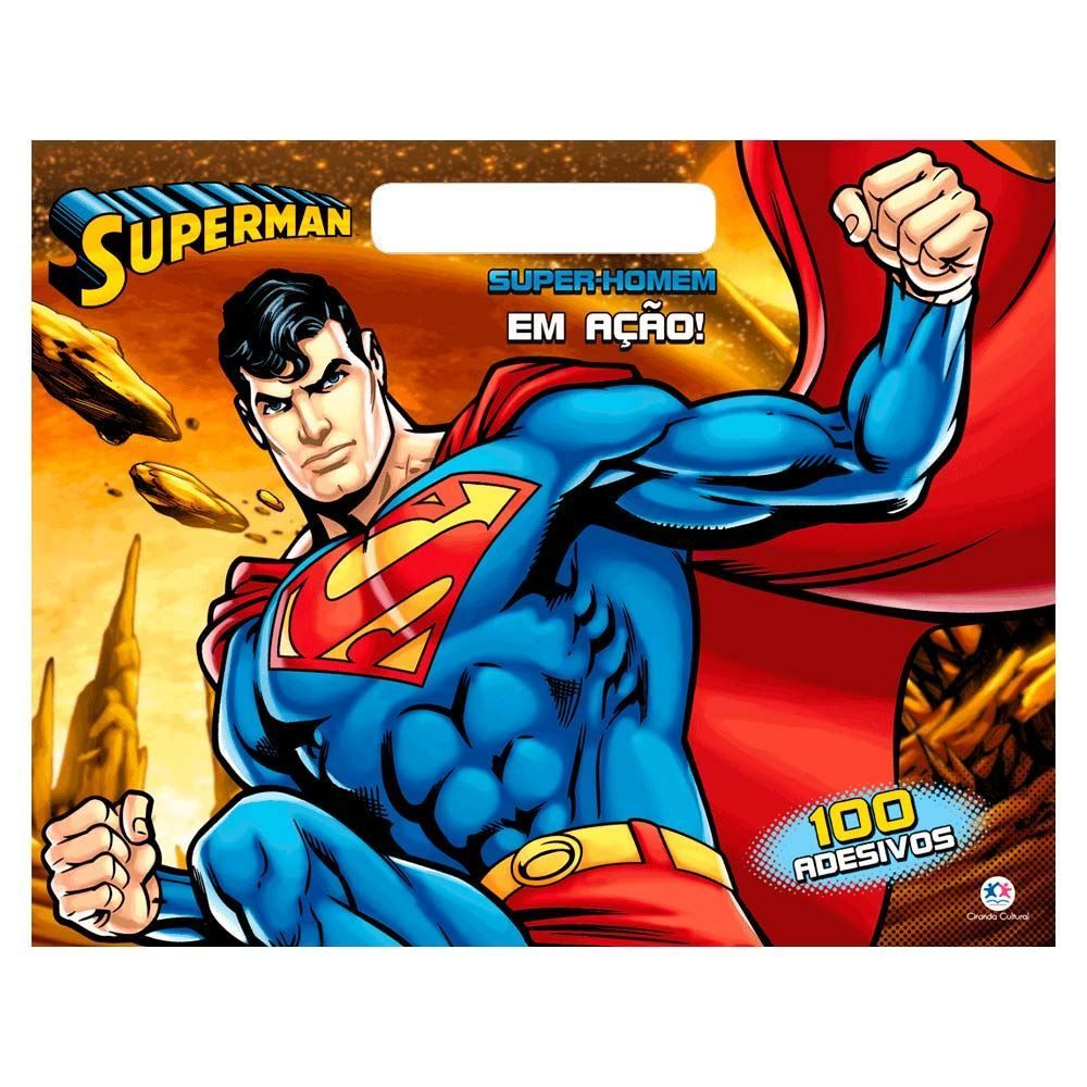Livro Super-Homem Em Ação! - Ciranda Cultural