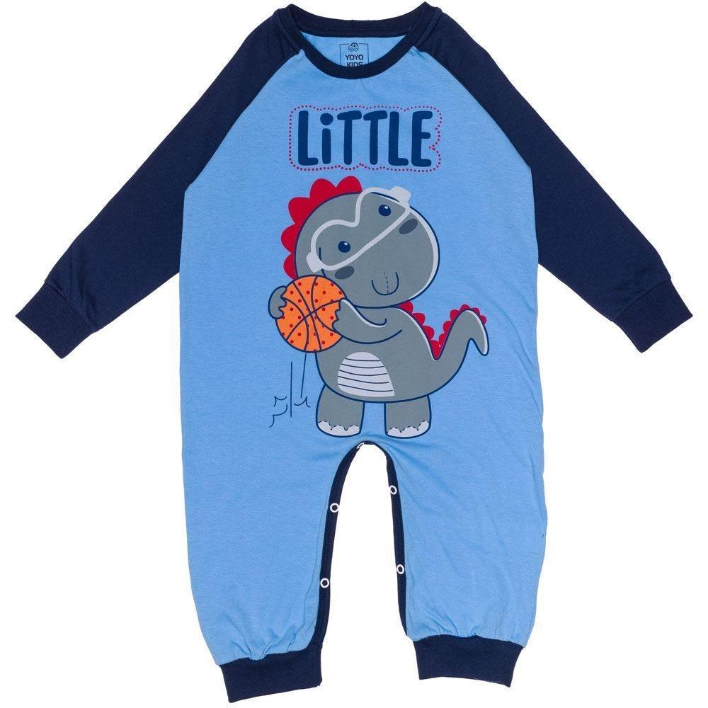 Macacão 1 a 3 anos Little Dino Yoyo Kids