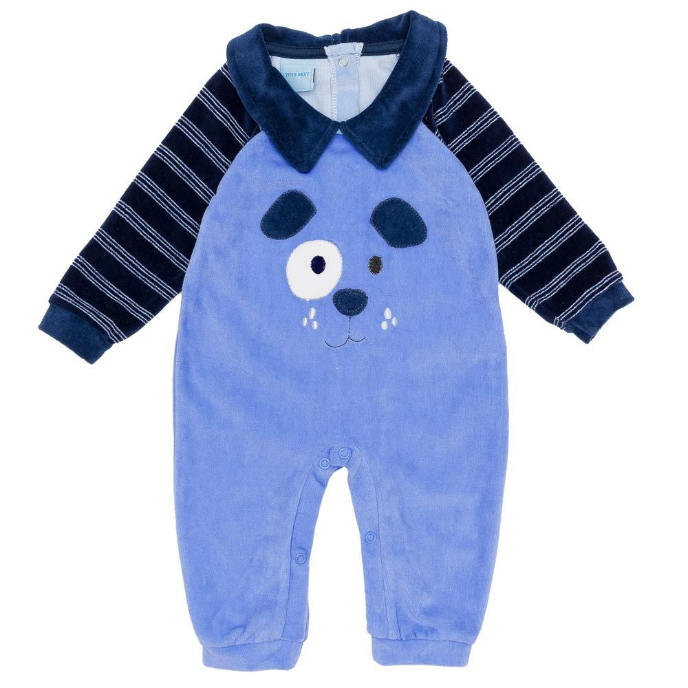 Macacão de Bebê Plush Dog Yoyo Baby
