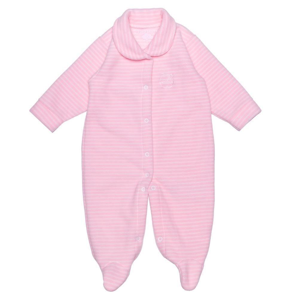 Macacão de Bebê Soft com Pézinho Yoyo Baby