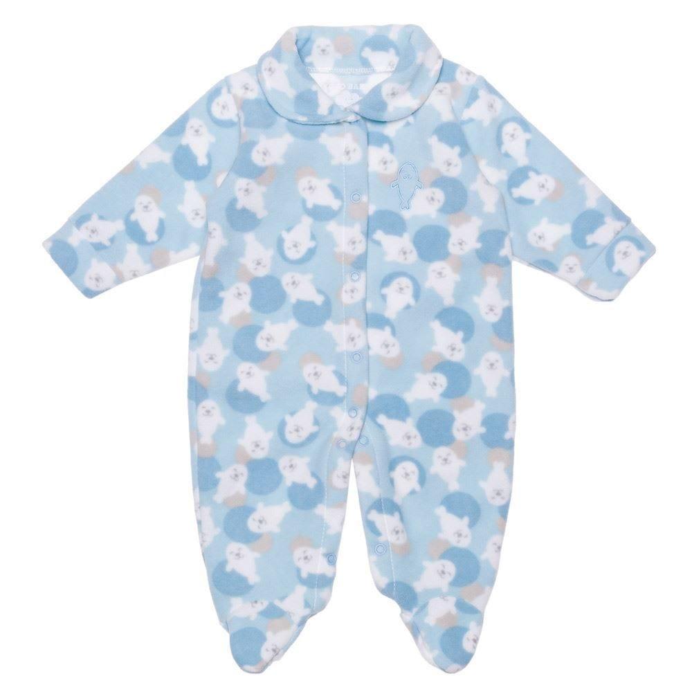Macacão de Bebê Soft Neutro Yoyo Baby