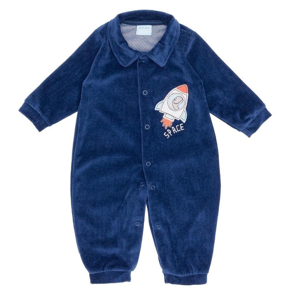 Macacão Plush de Bebê Dino Space Yoyo Baby