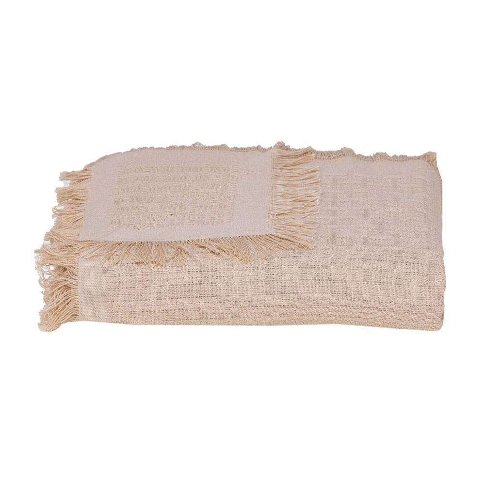 Manta Para Sofá 1,20X1,50M Unicolor Dohler - Bege