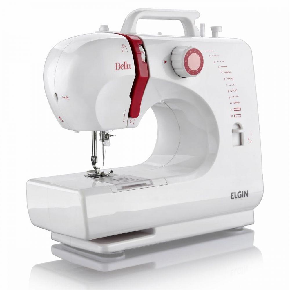 Máquina de Costura 6 Pontos Bella BL-1200 Elgin - Bivolt