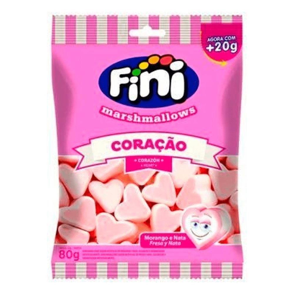 Marshmallow De Coração Fini - 60g