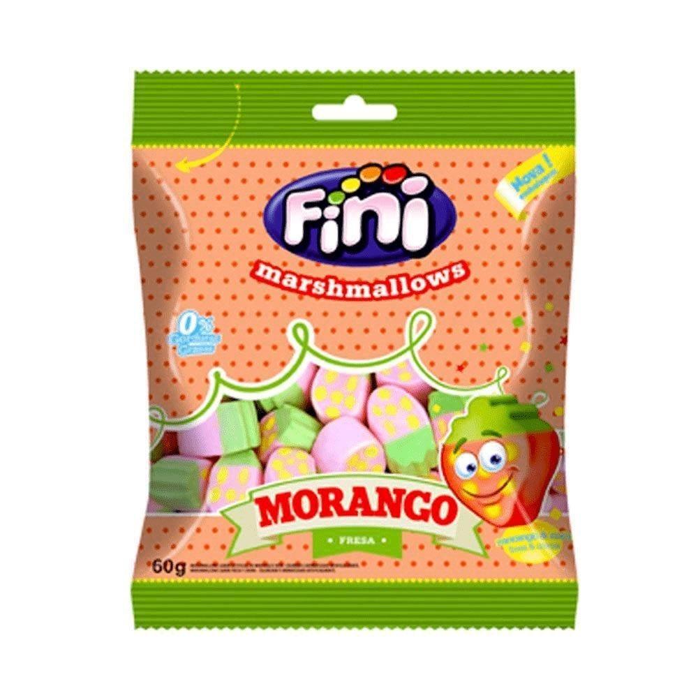 Marshmallow De Morango Fini - 60g