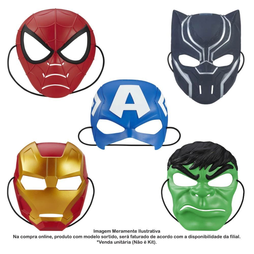 Máscara Value Avengers Hasbro - B0440
