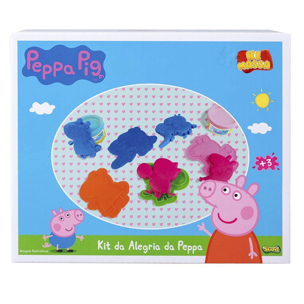 Massinha Kit Da Alegria Da Peppa Pig Sunny - 1852