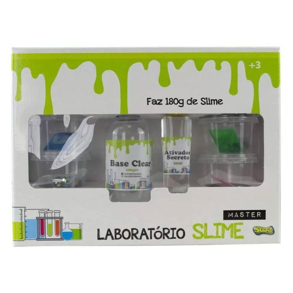 Master Slime Laboratório Sunny Faz 180 Gramas - 2263