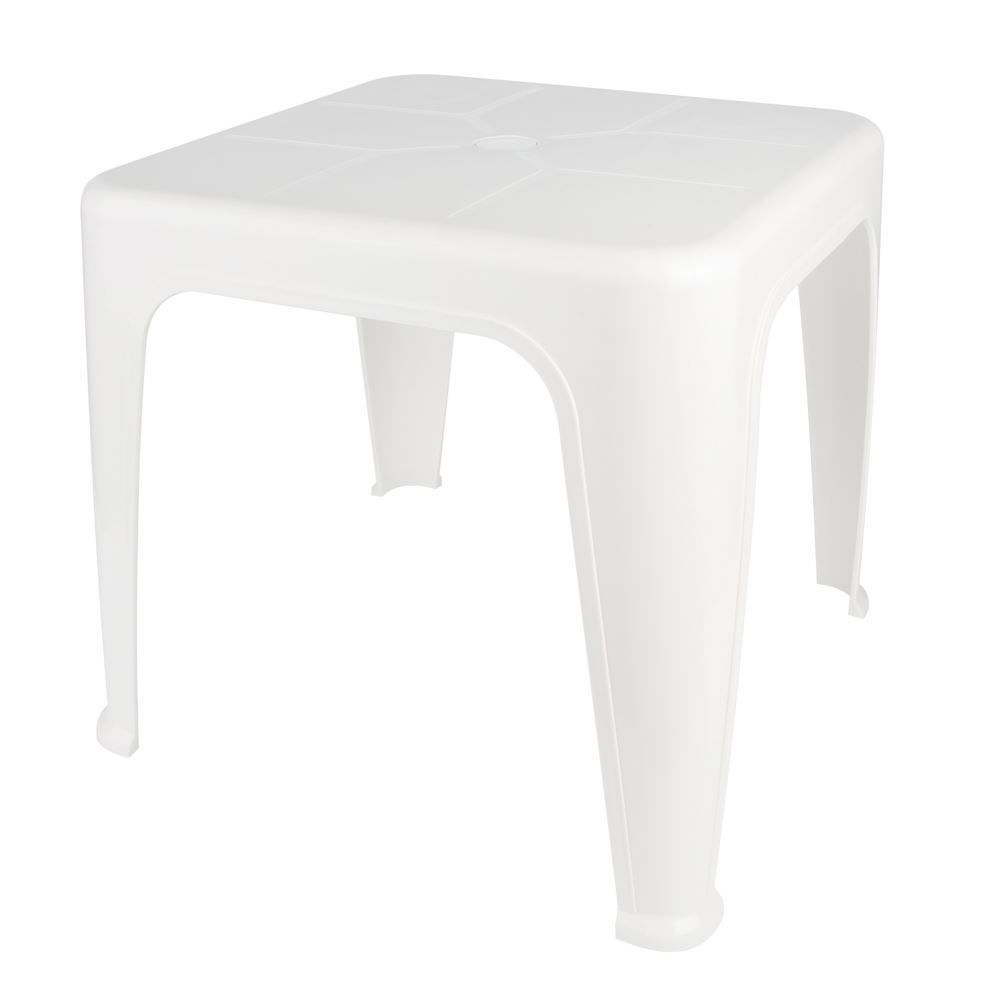 Mesa Plástica De Apoio Mor - Branco