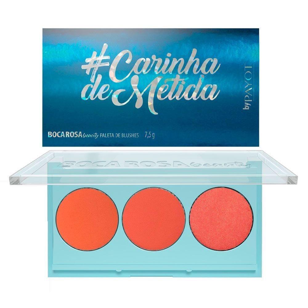 Paleta De Blush #Carinhademetida Boca Rosa - 7,5g