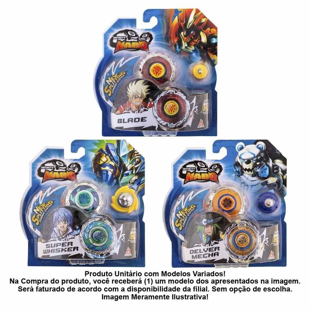 Pião De Batalha Infinity Nado Standard Series Candide - 3901