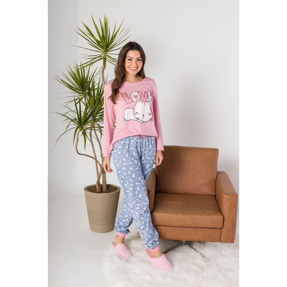 Pijama Cat In Love Holla
