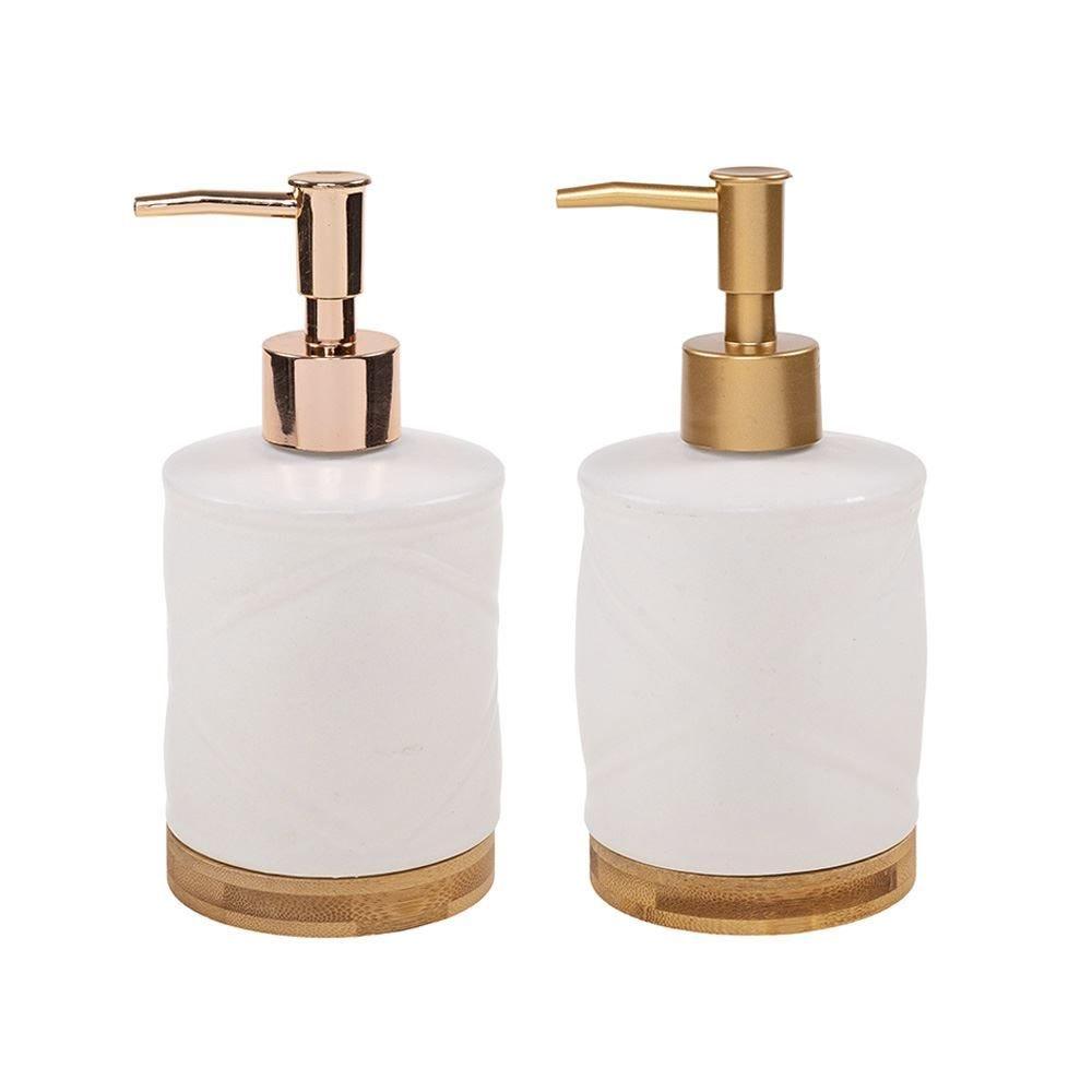 Porta Sabonete Liquido Iris 300Ml - Branco