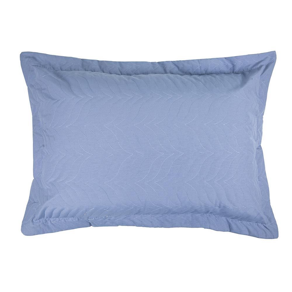 Porta Travesseiro Avulso Matelado Yaris - Azul Indigo