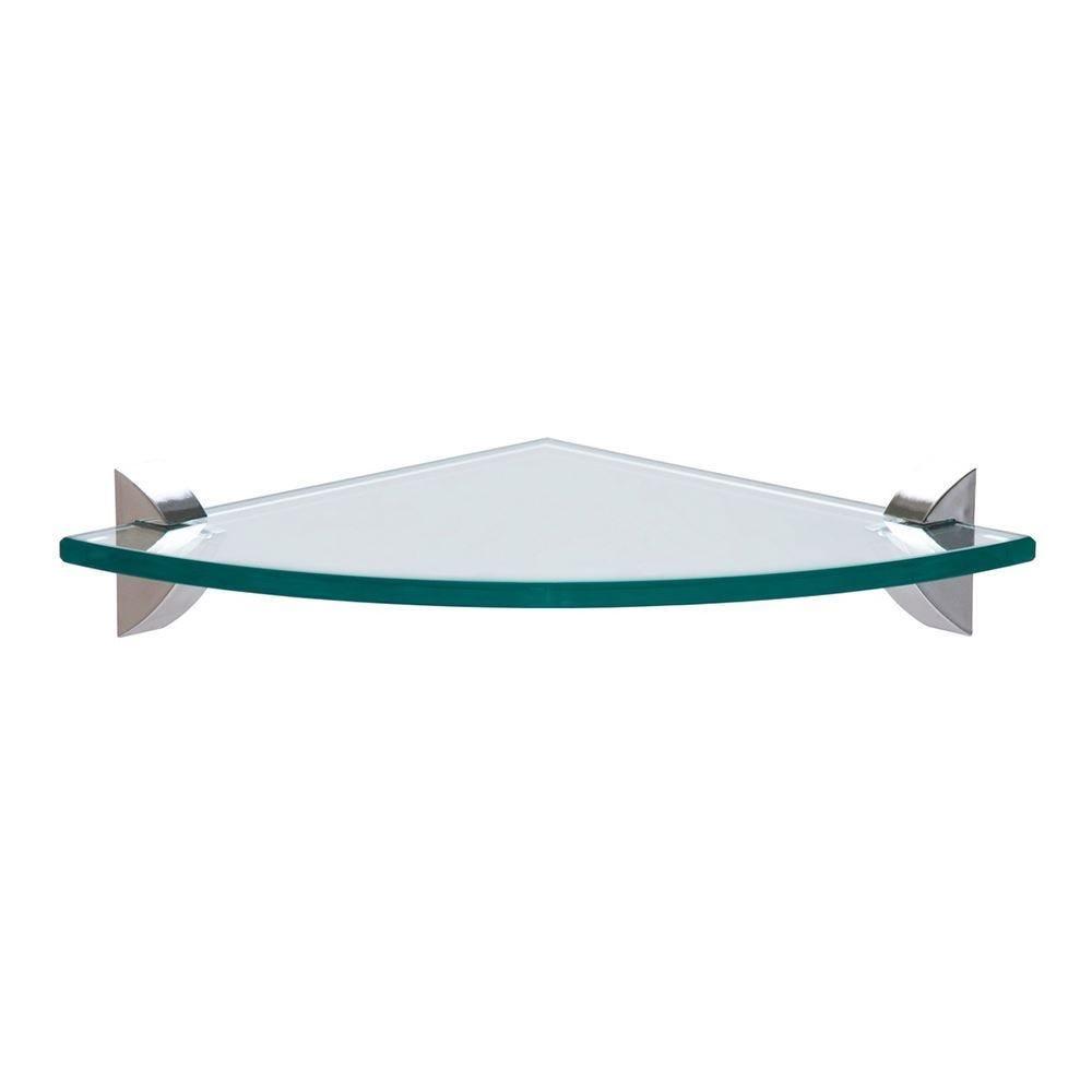 Prateleira De Canto 25X25cm Glass Tramontina - 91220/025