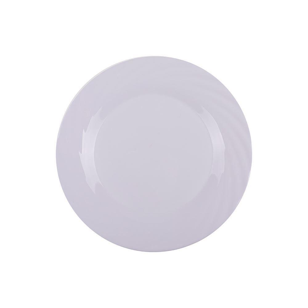 Prato De Sobremesa Jasmim Opaline 19Cm Dualex - Branco