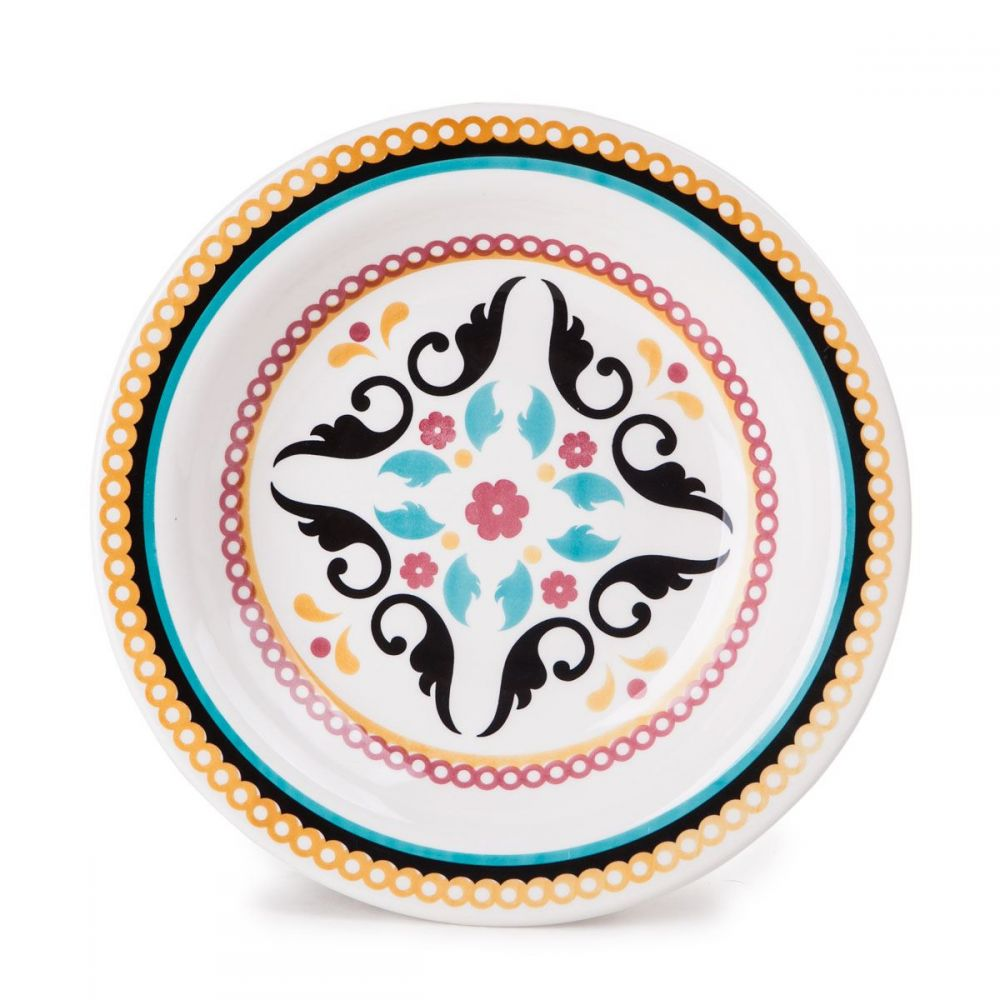 Prato Fundo Floreal Luiza Oxford Daily - Ceramica