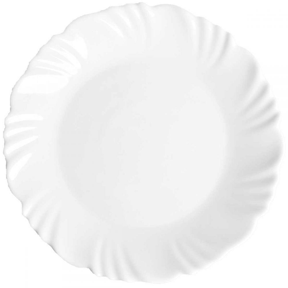 Prato para Sobremesa Pétala Nadir - Branco