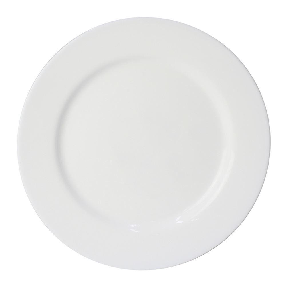 Prato Raso Lyor Opaline Everyday 24Cm - Branco