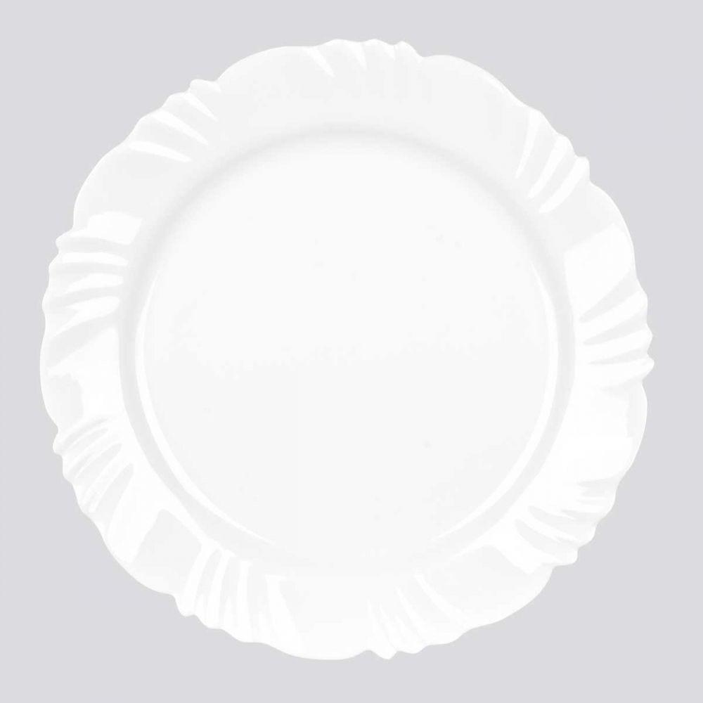 Prato Raso Pétala 25,5cm Nadir Figueiredo - Opaline