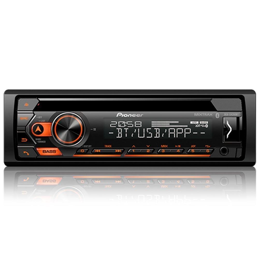 Rádio CD Player com Bluetooth DEH-S4280BT Pioneer - 1 DIN