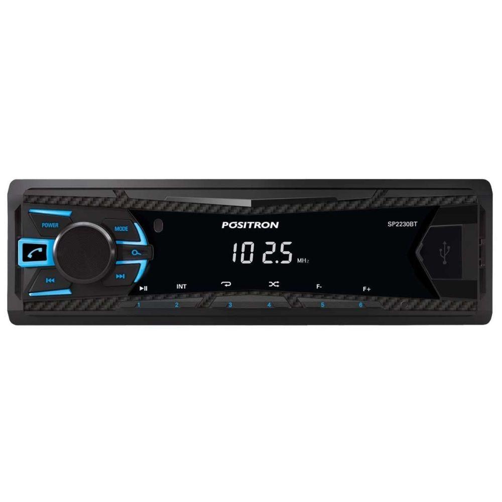 Rádio MP3 Player SP2230 com Bluetooth Positron - 1 DIN