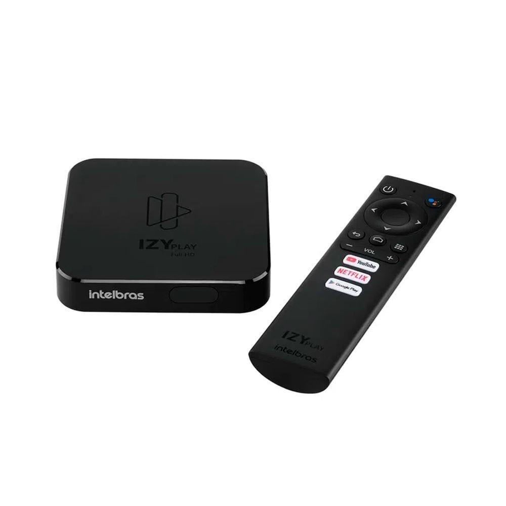 Receptor Smart Box Tv Android Izy Play Intelbras - Bivolt
