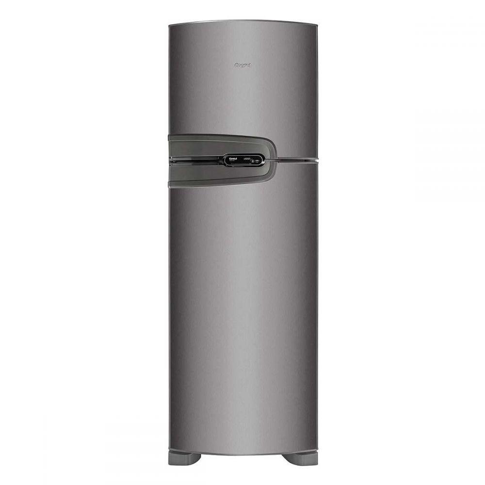 Refrigerador Frost Free 386L CRM43NK Platinum Consul