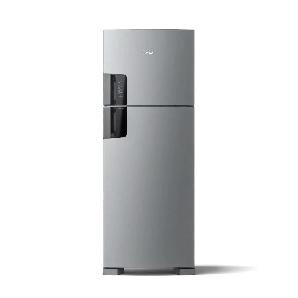 Refrigerador 450L Frost Free Duplex Inox Consul CRM56HK